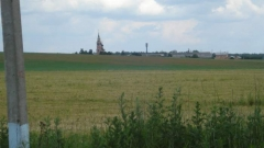 Симферопольское шоссе км от МКАД, дер. Валищево (Лопатино), Подольский район, участок 12,3-соток правильной формы, ДНТ, 35 км. от МКАД, пустой, рядом большие водоемы, церковь, панорамный вид, лес